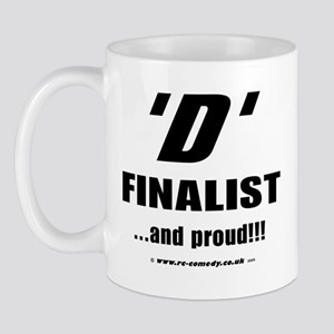 D Finalist Mug