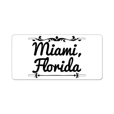 Miami, Florida Aluminum License Plate by ADMIN_CP13764613
