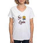 Sir Lyndon Women's V-Neck T-Shirt