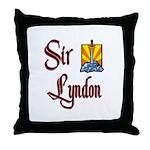 Sir Lyndon Throw Pillow