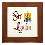 Sir Lyndon Framed Tile