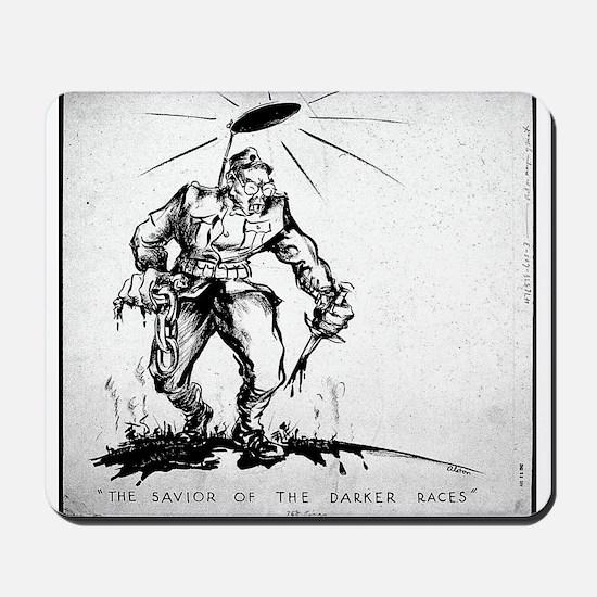 WWII Anti-Japanese Propaganda Mousepad