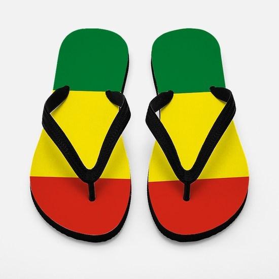 Flag: Bolivia Flip Flops