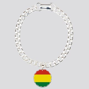Flag: Bolivia Charm Bracelet, One Charm