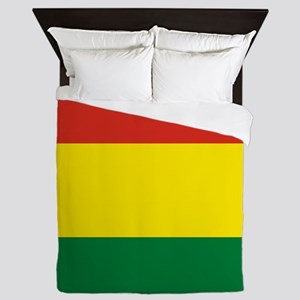 Flag: Bolivia Queen Duvet