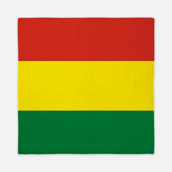 Flag: Bolivia Queen Duvet