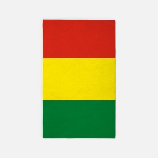 Flag: Bolivia Area Rug