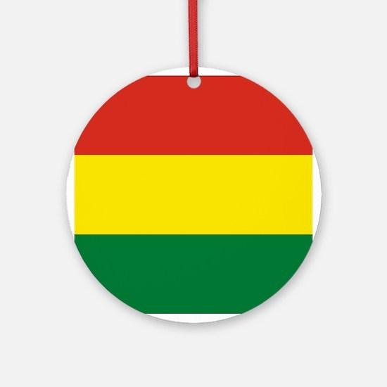 Flag: Bolivia Round Ornament