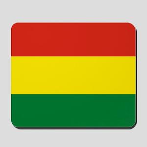 Flag: Bolivia Mousepad