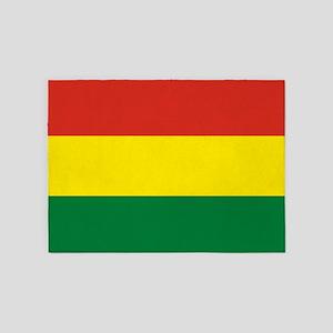 Flag: Bolivia 5'x7'Area Rug