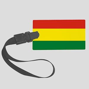 Flag: Bolivia Large Luggage Tag