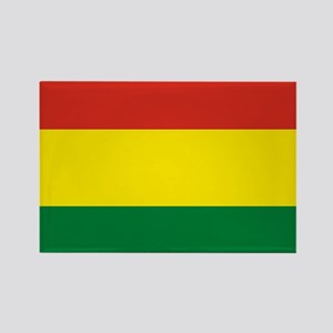 Flag: Bolivia Rectangle Magnet