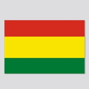 Flag: Bolivia Postcards (Package of 8)
