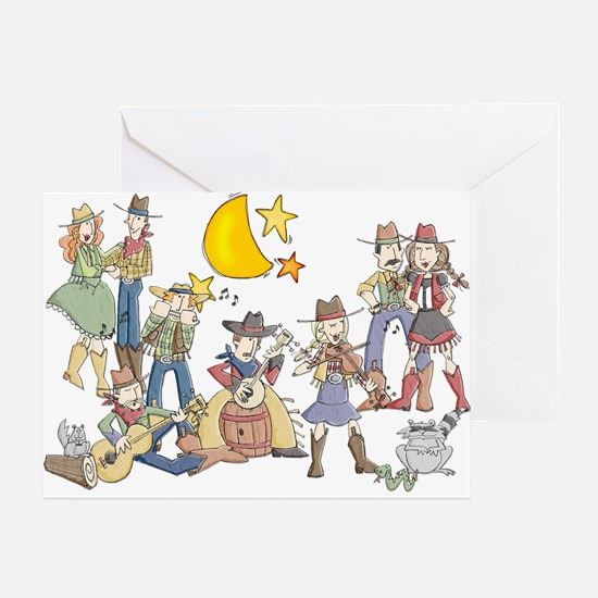 Little Bit Country Greeting Card