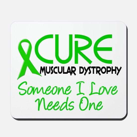 CURE Muscular Dystrophy 2 Mousepad
