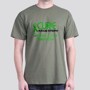 CURE Muscular Dystrophy 2 Dark T-Shirt