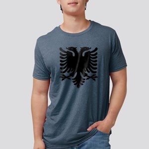 Black Albanian Double Headed T-Shirt