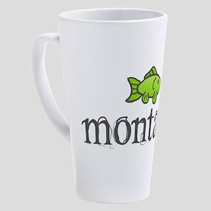 Montana Fish 17 oz Latte Mug