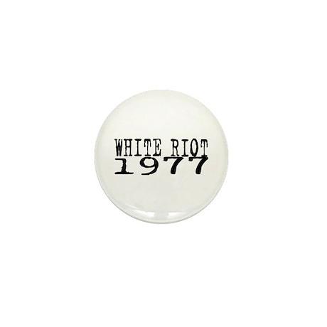 WHITE RIOT 1977 Mini Button (100 pack)