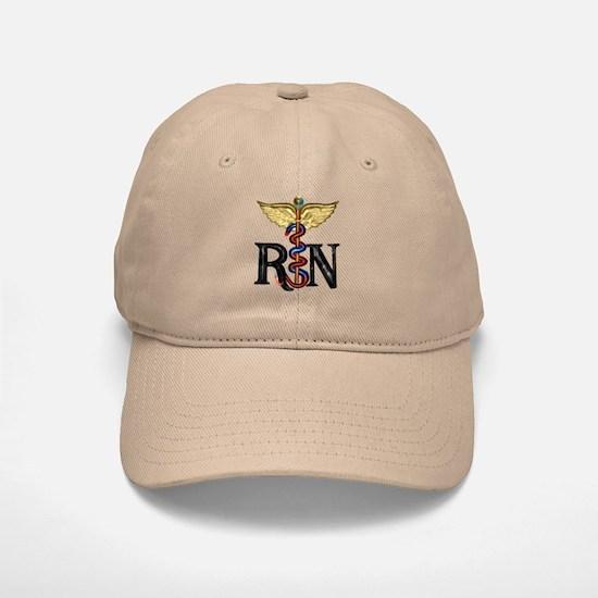 RN Caduceus Baseball Baseball Cap