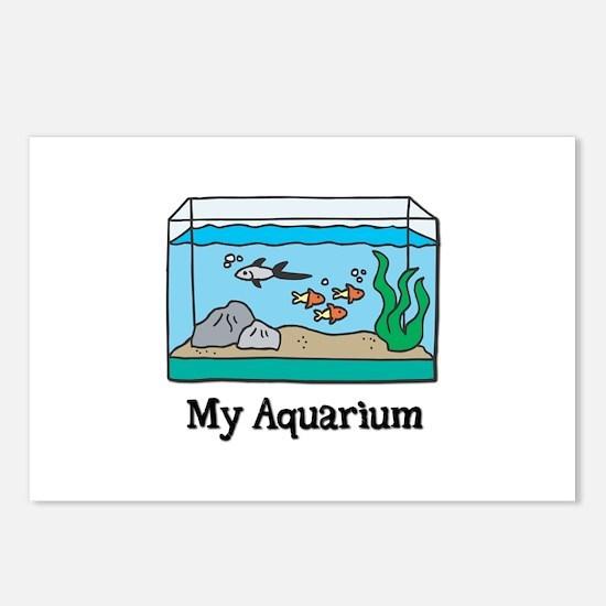 My Aquarium Postcards (Package of 8)