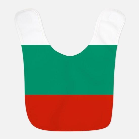 Flag: Bulgaria Polyester Baby Bib