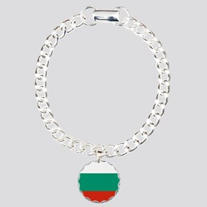 Flag: Bulgaria Charm Bracelet, One Charm