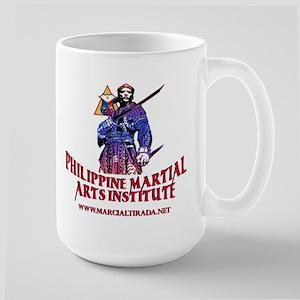 PHILIPPINE MARTIAL ARTS INSTITUTE LARGE MUG