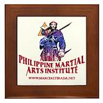 PHILIPPINE MARTIAL ARTS FRAMED TILE