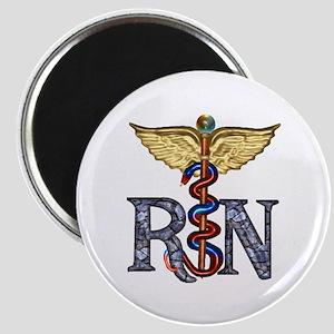 """RN Caduceus 2.25"""" Magnet (10 pack)"""