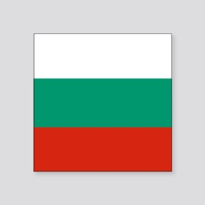 "Flag: Bulgaria Square Sticker 3"" x 3"""