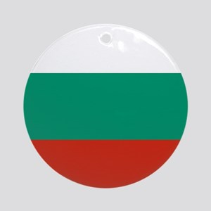 Flag: Bulgaria Round Ornament