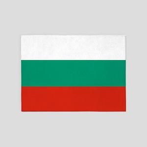 Flag: Bulgaria 5'x7'Area Rug