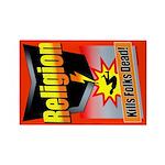 RKFD Rectangle Magnet (10 pack)
