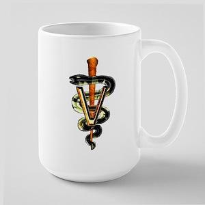 Veterinary Caduceus Large Mug