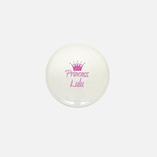 Princess Lulu Mini Button