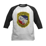 USS FOX Kids Baseball Jersey