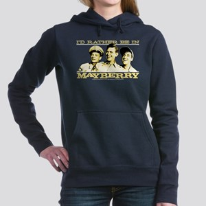 Rather Be in Mayberry Women's Hooded Sweatshirt