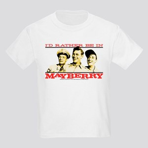 Rather Be in Mayberry Kids Light T-Shirt