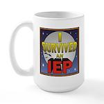 I Survived an IEP Large Mug