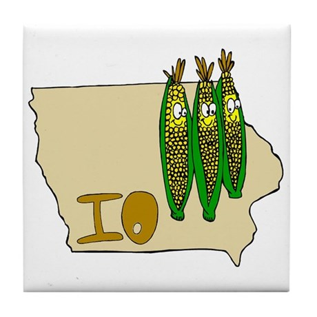 Iowa Pride! Tile Coaster