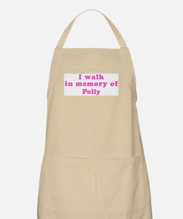 Walk in memory of Polly BBQ Apron