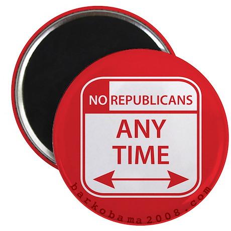 No Republicans Magnet