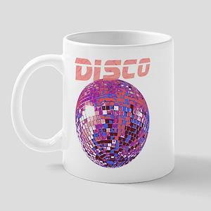 Pink Mirror Ball Mug