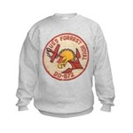 USS FORREST ROYAL Kids Sweatshirt