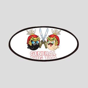 Poopie and Doopie - General Pug Tao Patch