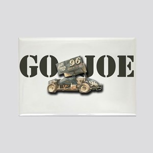 Go Joe Rectangle Magnet