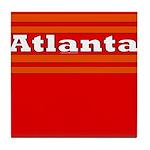 Atlanta Football Tile Coaster