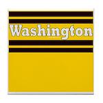 Washington Football Tile Coaster