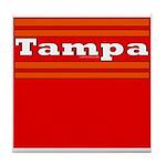 Tampa Football Tile Coaster